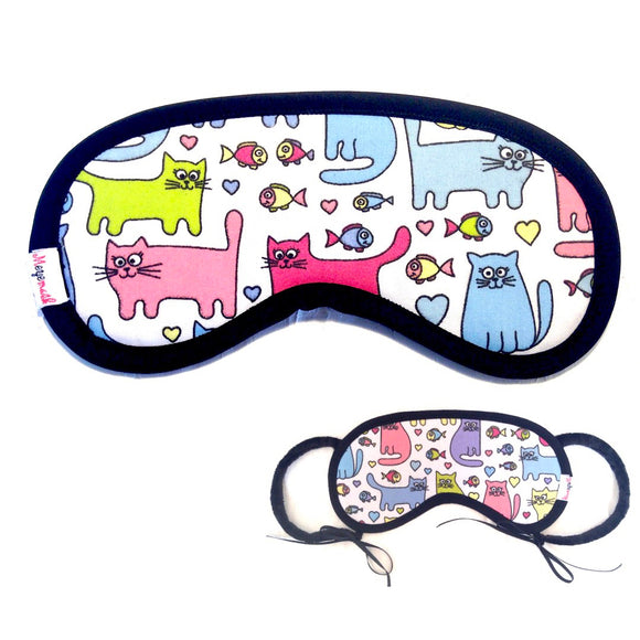 Super quality and Comfortable Eye Mask (Cats)