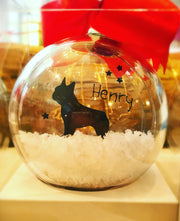 Short-Haired Chihuahua Bauble