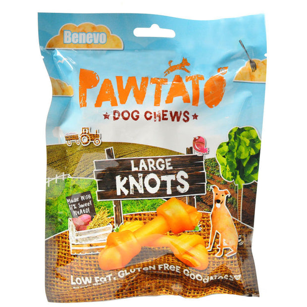 Benevo Pawtato Knots (Small and Large)