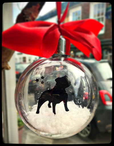 Staffordshire Bull Terrier Bauble