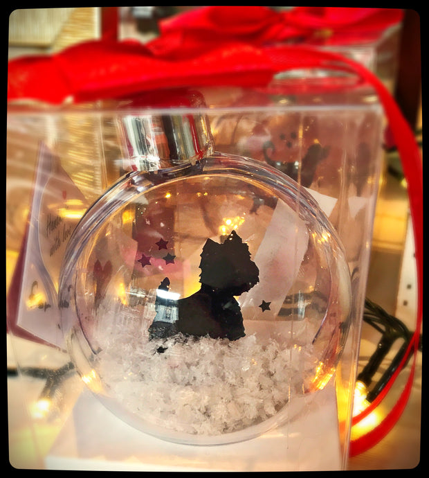 West Highland Terrier Bauble
