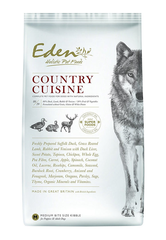 Eden Country Cuisine Dry Food (2kg)