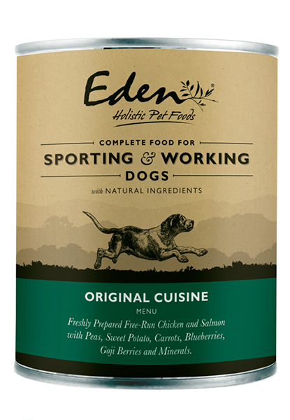 Eden Wet Food for Sporting and Working Dogs- Original Cuisine (400)