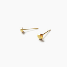 Load image into Gallery viewer, Geometric Stud Earrings - Golden
