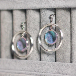Luna Saturn Drop Earrings