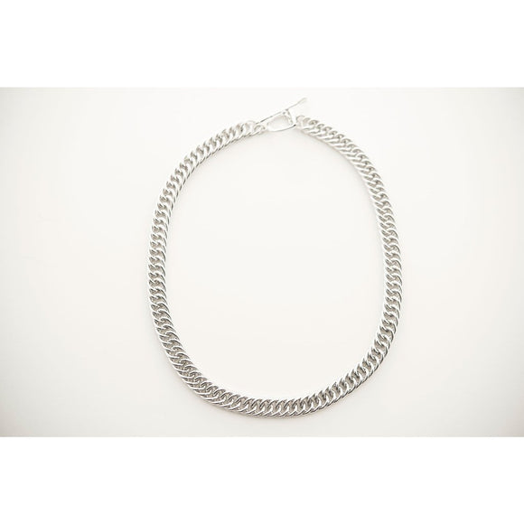 Curb chain necklace Michel McNabb