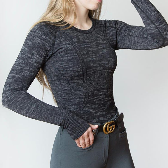 Kennedy Seamless Longsleeve Shirt - Ladies