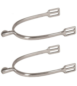 Stainless Steel Rowel Spurs