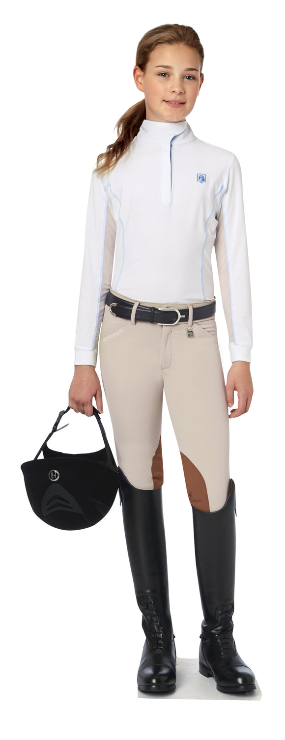 Sarafina Knee Patch Breeches - Kids