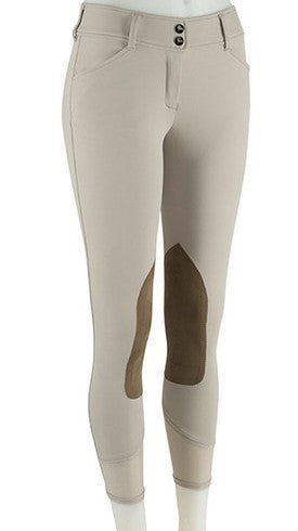 Gulf Low Rise Front Zip Breeches - Sand