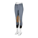 Gulf Low Rise Front Zip Breeches - Greys