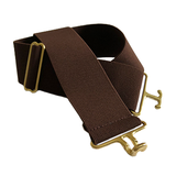 ACE Equestrian Wide Surcingle Belt with Brass Buckle