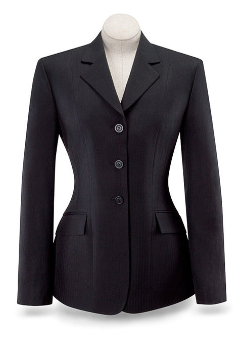 Devon Essential Show Coat - Black - Ladies