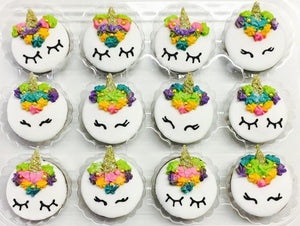 Gracie Unicorn Crunch Cups - Snaks 5th Avenchew