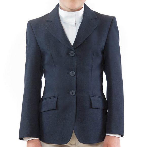 Hampton Show Coat - Navy Herringbone - Kids
