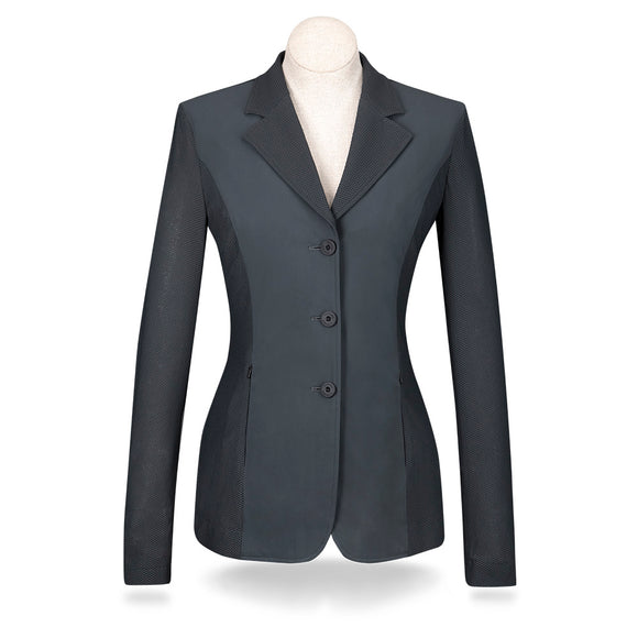 Harmony Mesh Show Coat - Grey Smoke - Ladies