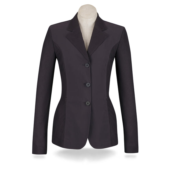 Harmony Mesh Show Coat - Wine - Ladies