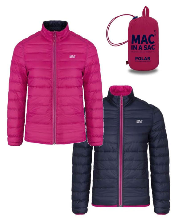 Mac in a Sac Polar Reversible Down Jacket