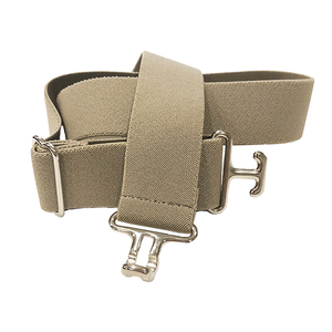 ACE Equestrian Thin Surcingle Belt with Silver Buckle