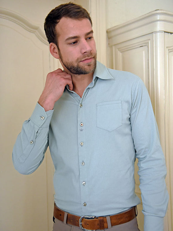 Sao Paolo Dress Shirt Light Blue - Mens