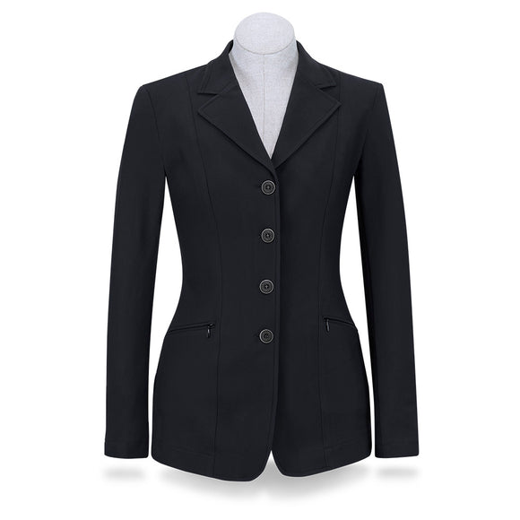 Victory Show Coat - Solid Black