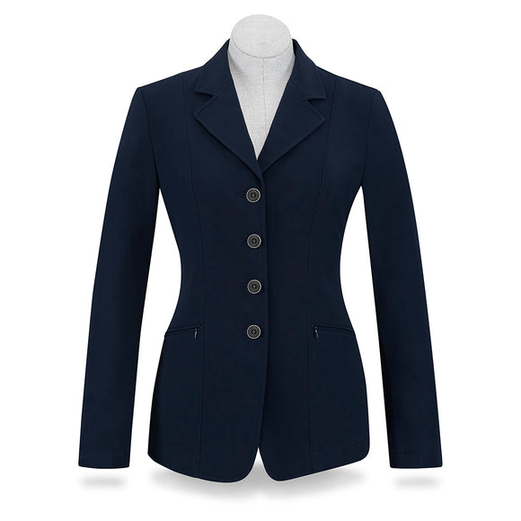Victory Show Coat - Solid Navy