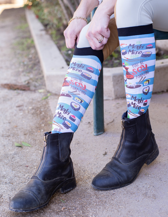 California Roll Boot Socks
