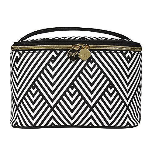Dabney Lee Train Case - Black Chevron