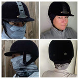 Equestrian Design Face Covers