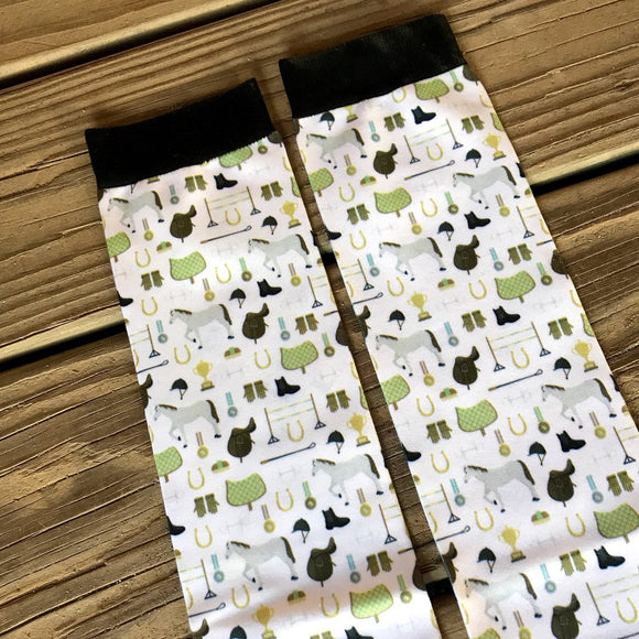 Dreamers & Schemers Horse Show Socks