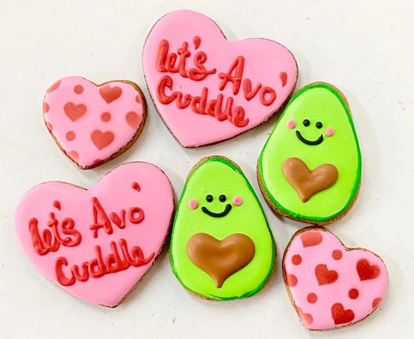 Let's Avocuddle Valentine Snaks - Snaks 5th Avenchew
