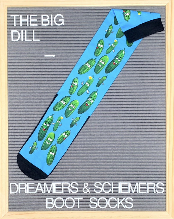 The Big Dill Boot Socks