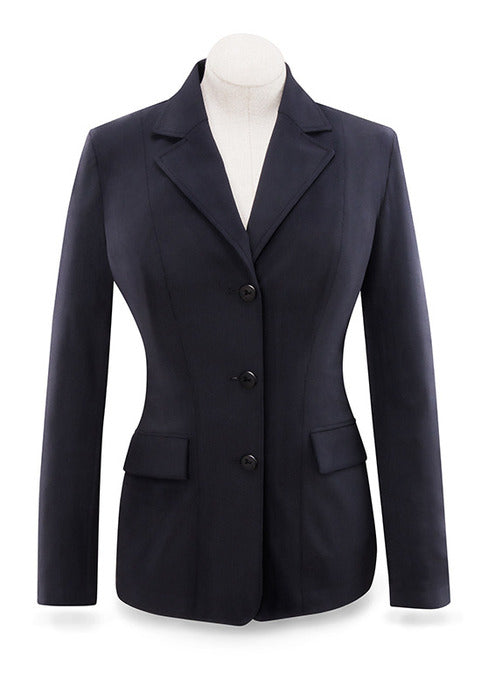 Monterey Show Coat - Black Solid - Ladies