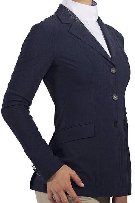 Monterey Show Coat - Navy Solid - Ladies