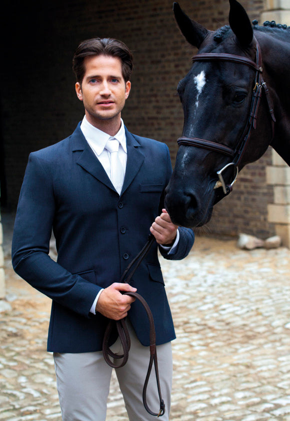 Mens Winston classic hunter show coat navy blue