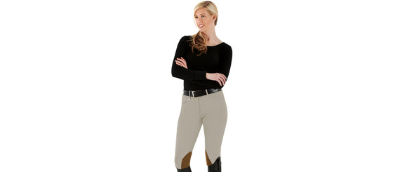 Champion Knee Patch Euro Seat Breech - Ladies