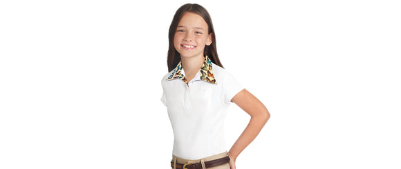 Sarah Short Sleeve Show Shirt - Girls