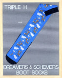 Dreamers & Schemers Triple H Boot Socks