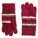 Woolrich Fair Isle Pattern Gloves