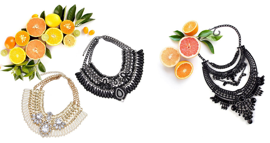 Statement Necklaces: Vitamin C Collection