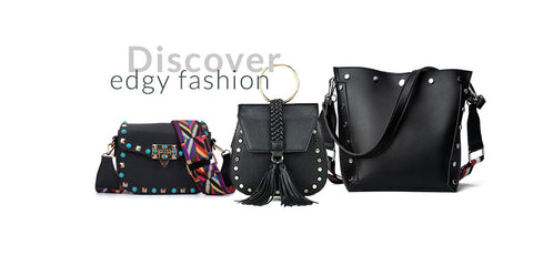 studded bags edgy fashion edgability
