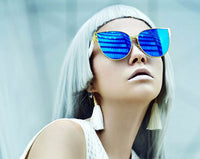 chrome blue sunglasses edgability