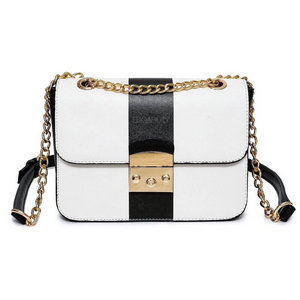 black and white bag classy bag edgability
