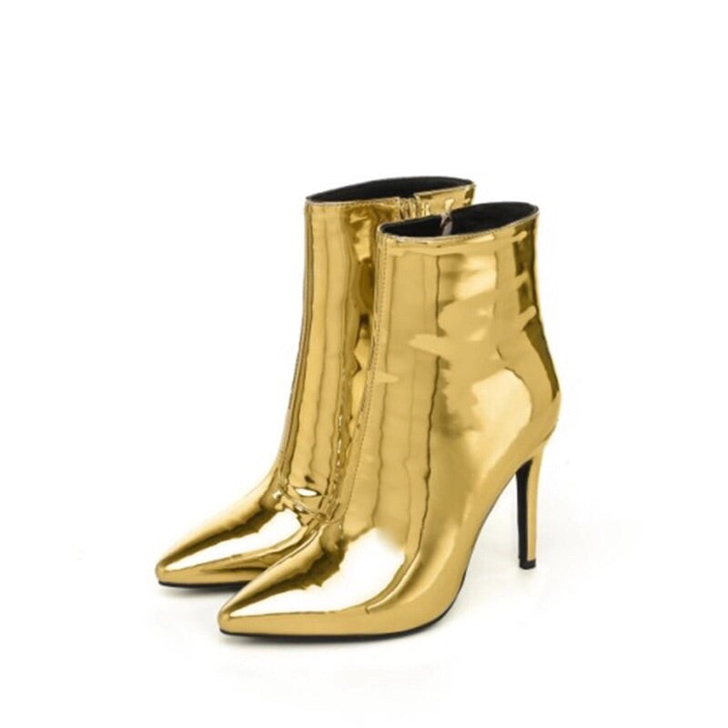 golden boots with heels edgability