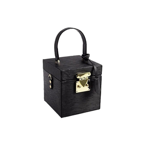 classy leather black box bag edgy fashion edgability