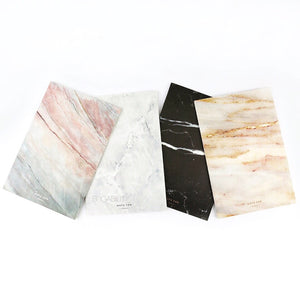minerals notebooks set with texture patterns edgability