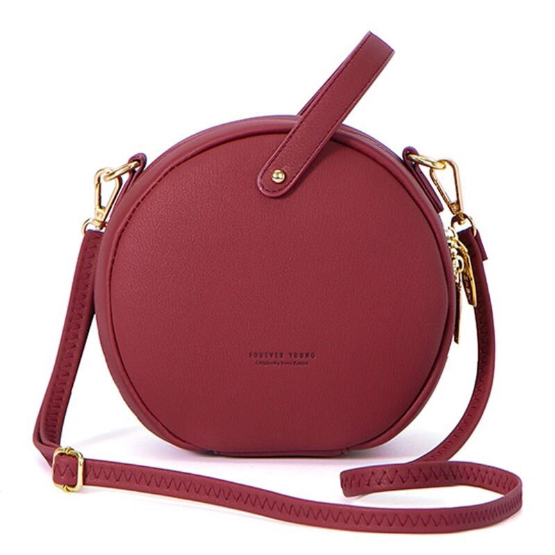 round bag sling bag red bag box bag edgability