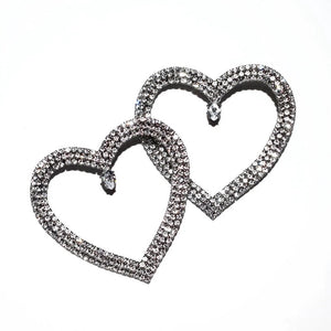 Melville Heart Earrings