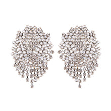 statement earrings crystal earrings chic jewelry edgability