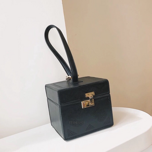 black bag box bag vintage bag edgability